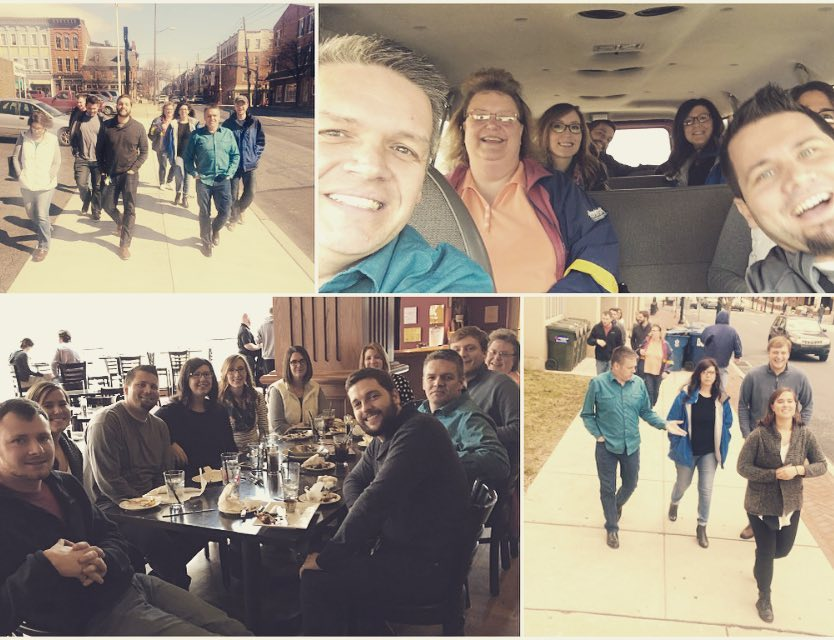 Happy #leapday from The Factory! We went leaping around Lancaster City for a progressive lunch.