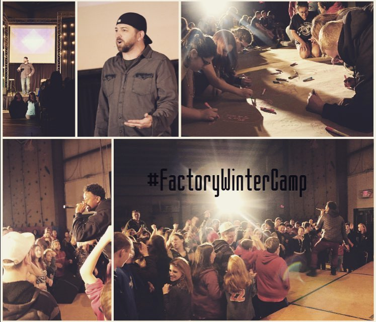 Camp is off to a great start! Always great to hear from @georgemoss and Josh Ott! #factorywintercamp